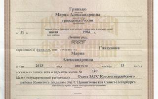 Бланк заявления на замену паспорта при смене фамилии: как заполнять?