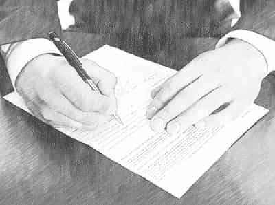 Договор дарения по доверенности: образец, правила составления дарственной