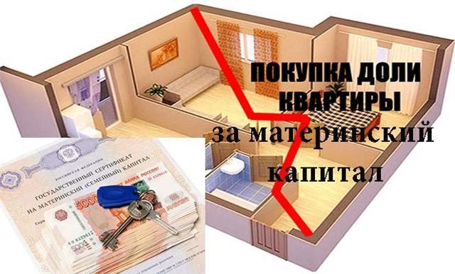 Как выкупить долю в квартире у родственника на материнский капитал?